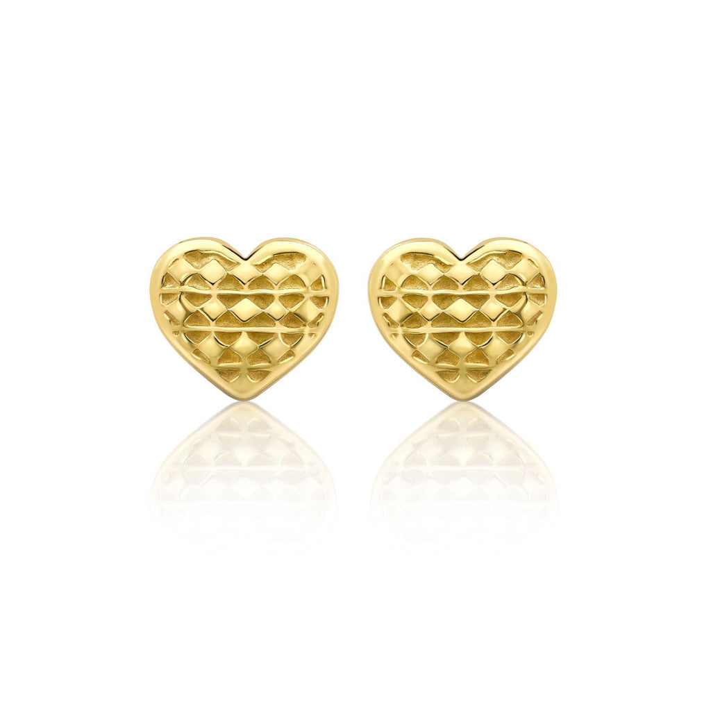 Heart of Africa 2021 Earrings in 18ct Gold