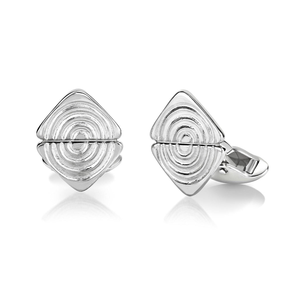 Vakadzi Cufflinks in Silver - Double
