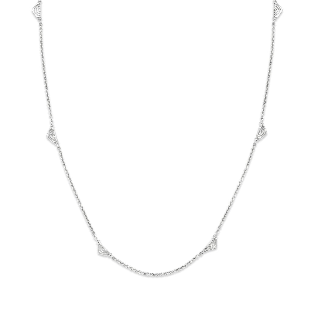 Vakadzi Multiple Necklace in Silver