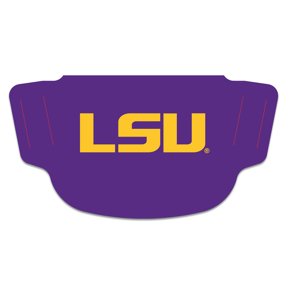 LSU Face Mask Purple & Gold