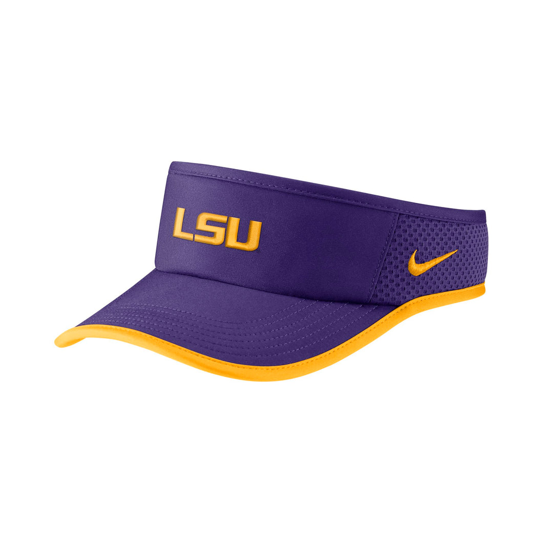 LSU Tigers Nike Purple Visor
