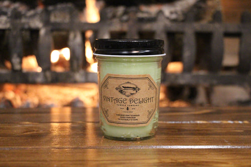 Vintage Delight Candle - Cucumber Melon 8oz