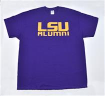 LSU Alumni Purple Tee