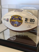 LSU 2019 National Champions Nikco Special Edition Display Case