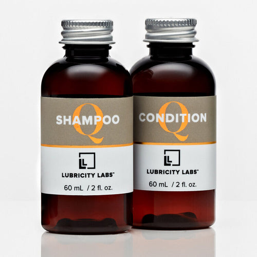 Lubricity Labs Shampoo & Conditioner Travel Set
