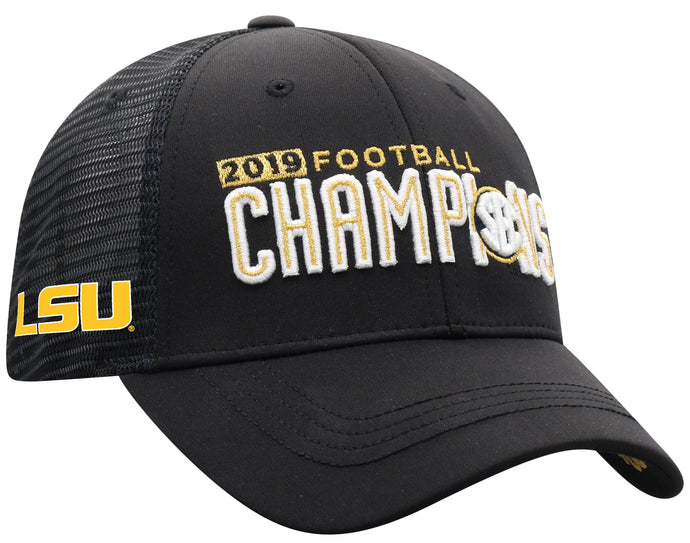 LSU Tigers 2019 SEC Champions Locker Room Cap