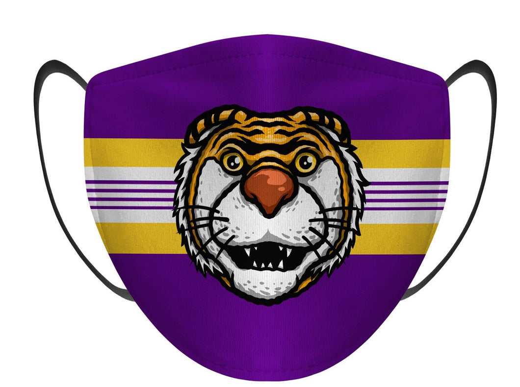LSU Tiger Face Mask