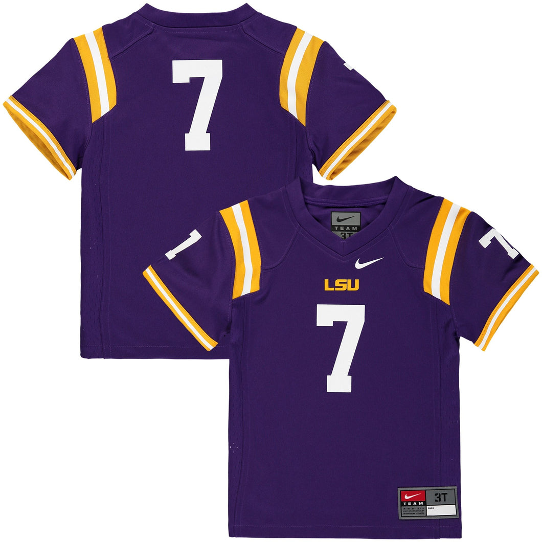 Youth Nike LSU #7 Jersey