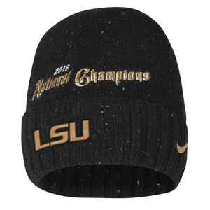 LSU 2019 National Champions Nike Beanie