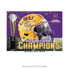 LSU 2019 National Champions Magnet