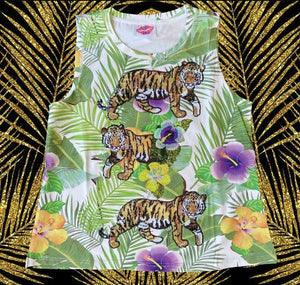 Sparkle City Tropical Tiger Tank