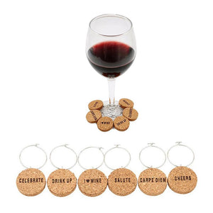 Wine Glass Ring Markers - FURlosophie