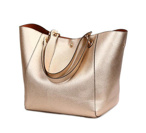 Genuine Leather Tote - FURlosophie