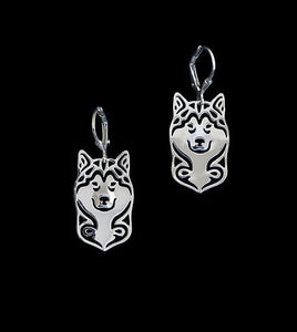 Husky Drop Earrings - FURlosophie