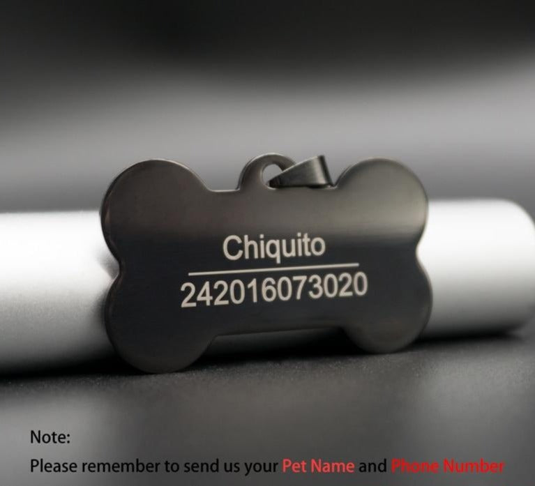 Customized Pet ID Tag