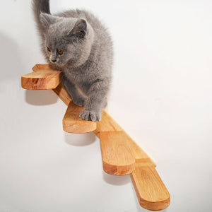 Wall-mounted Cat Ladder - FURlosophie