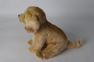 Lifelike Golden Retriever Puppy Plushie