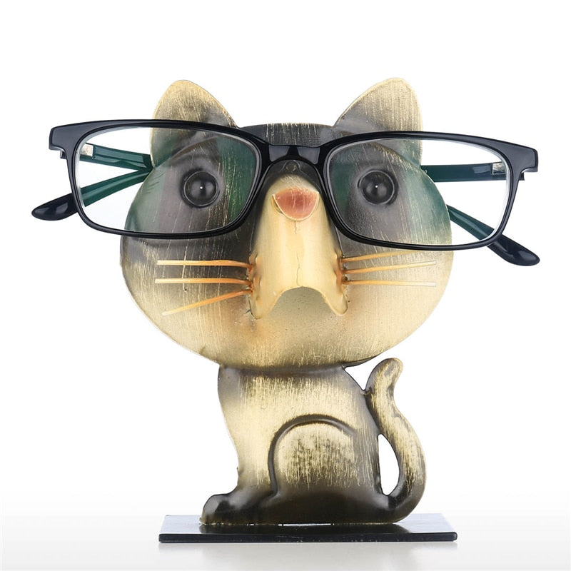 Spectacle Cat Stand