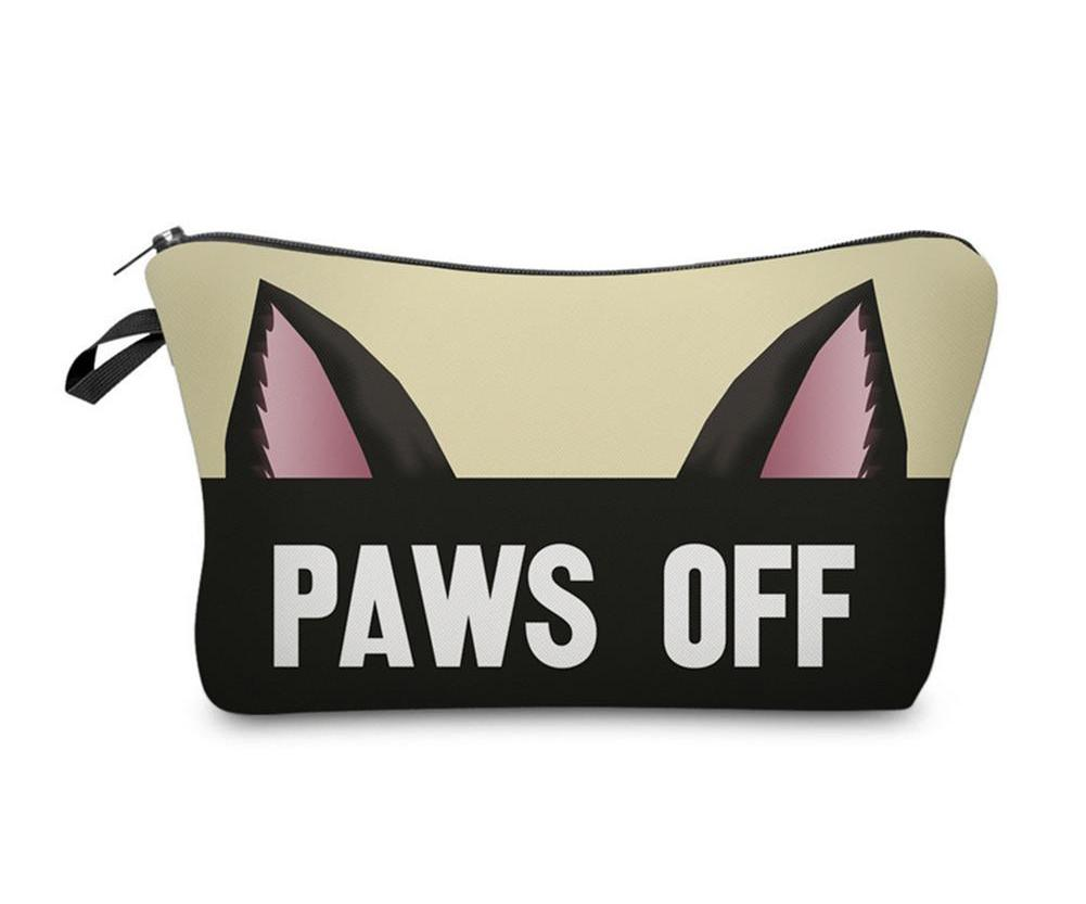 Paws Off Make Up Pouch - FURlosophie