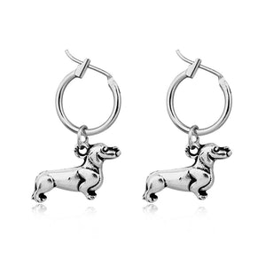 Dachshund Hoop Earrings - FURlosophie