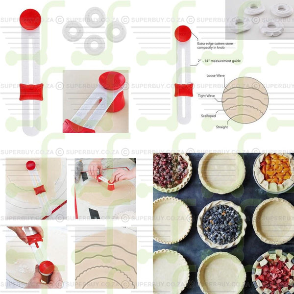 Precision Pastry Pie Crust Cutter