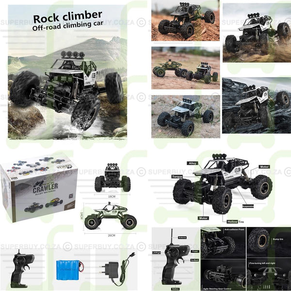 FWD Off-road Rock Climber RC Buggy Car RTR
