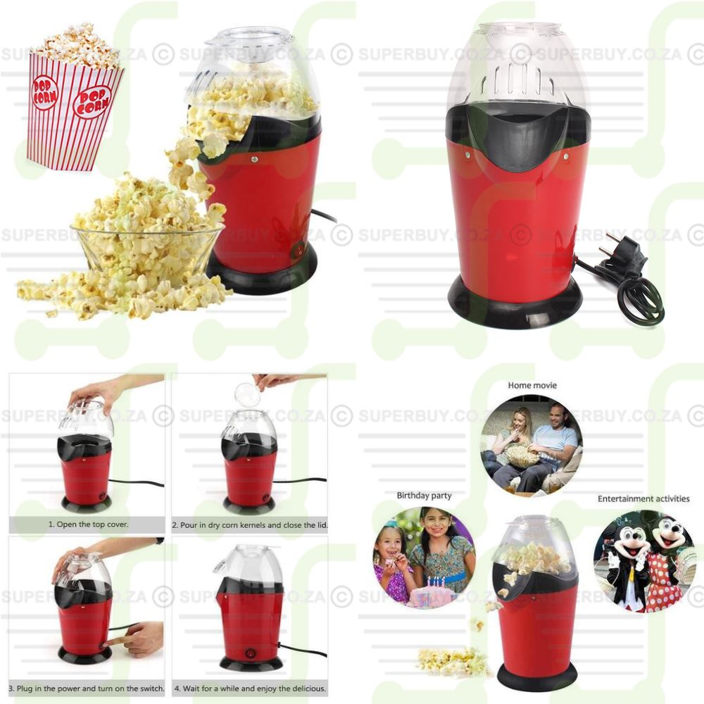 Mini Popcorn Maker Hot Air Popcorn Machine