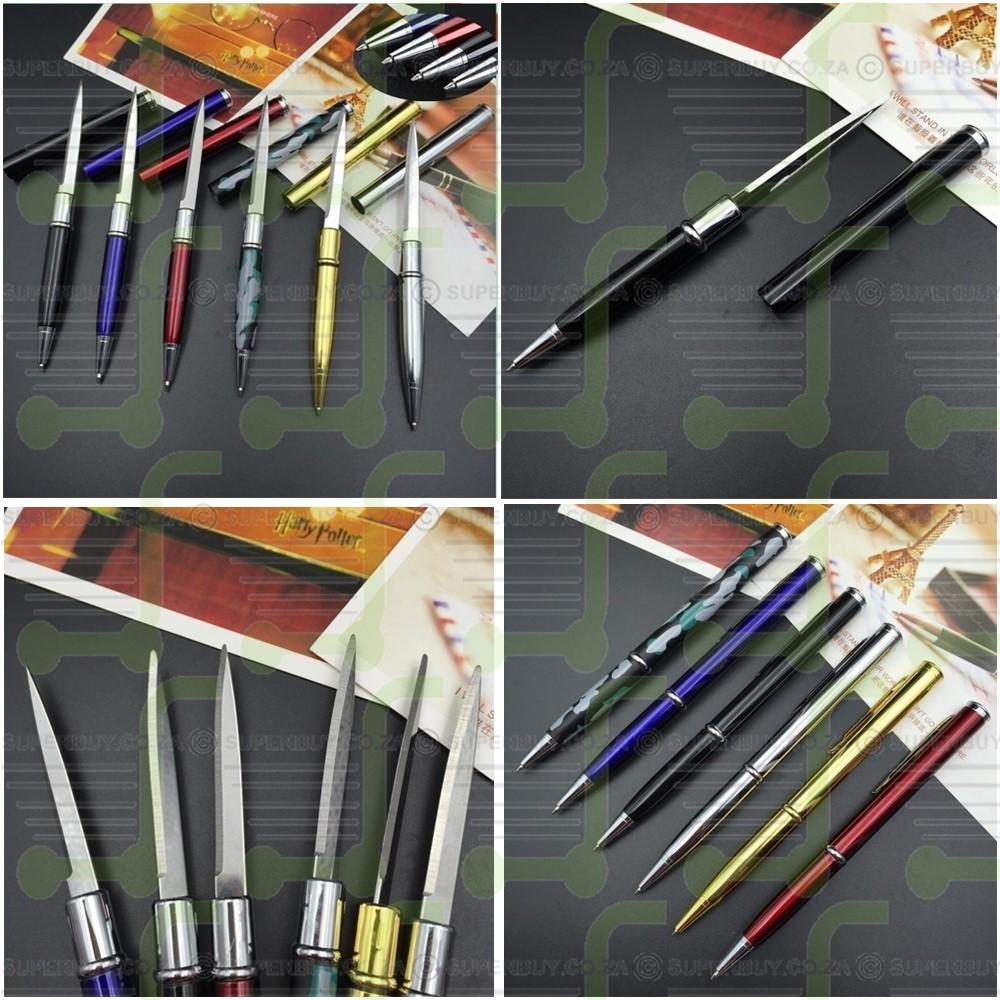Ballpoint Multi-Function Self Defense Metal Pen Knife