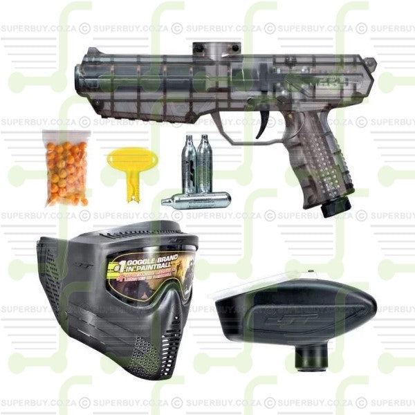 JT ER4 Ready To Play RTP Paintball Gun Kit