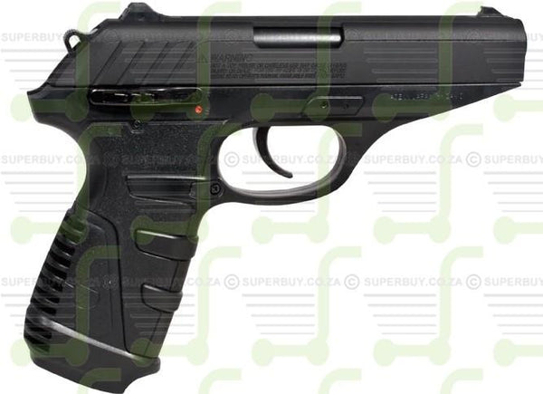 Gamo P25 Blowback 4.5mm Semi Automatic CO2 Powered Air Pistol with Blowback Feature