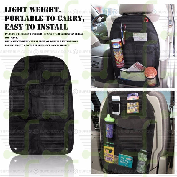 Back Car Seat Organizer Auto Accessory