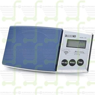 Electronic Digital Pocket Scale 500 x 0.1 Gram