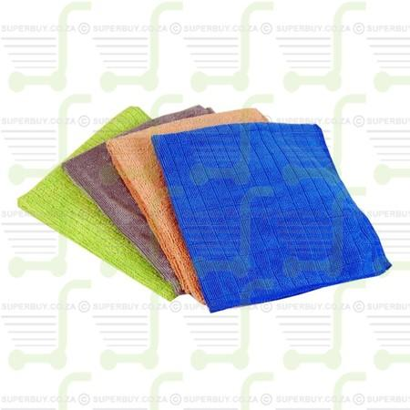 Microfibre Cloths Variety Pack Extra Large 30 X 30CM