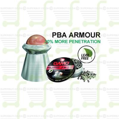 Gamo ARMOR PBA 4.5mm .177 Caliber Ammunition Air gun Air Rifle Pellets - Tins of 125