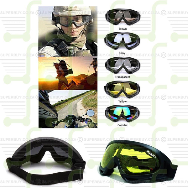 Airsoft ATV Sports Safety Eye Goggle