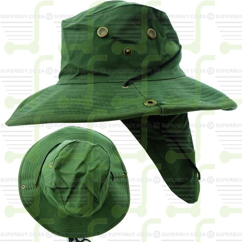 Olive Green Boonie Safari Bush Hat