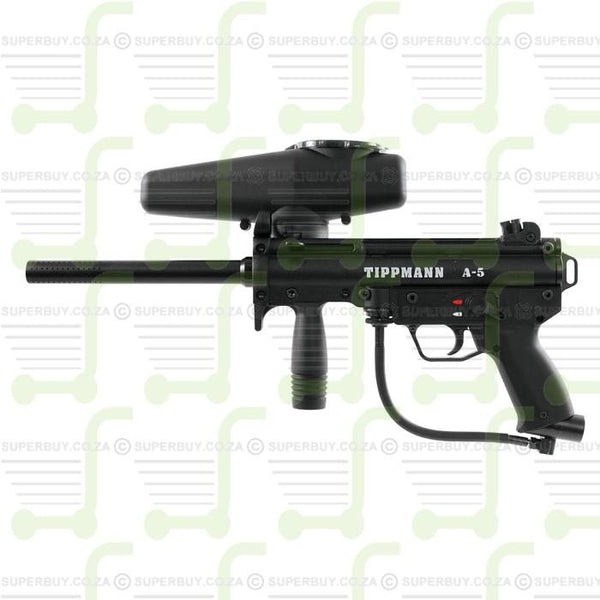 Tippmann A5 with Response Trigger .68 Caliber Paintball Gun Paintball Marker