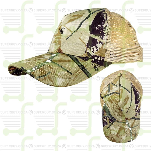 Oak Brush 3D Fusion Camouflage Mesh Back Cap