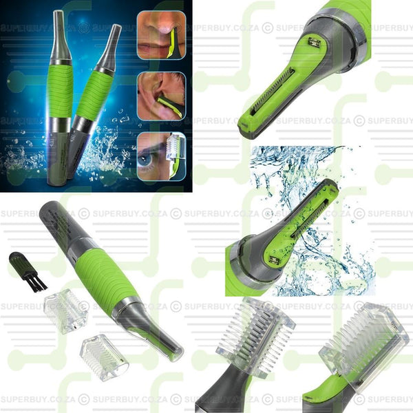 Mens Portable Micro Max Hair Remover Trimmer