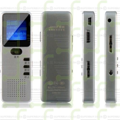 Digital Voice and Telephone Recorder (4GB Memory and USB Drive)