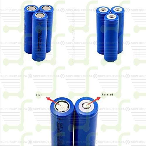Budget Pointed 14500 Battery Rechargeable Li-ion (Single)