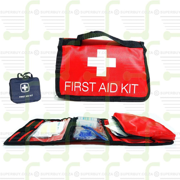 Portable First Aid Kit in Carry Pouch