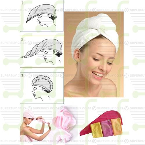 Hair Wrap Microfiber Beauty Hair Wraps - Finally Something Better Than A Towel