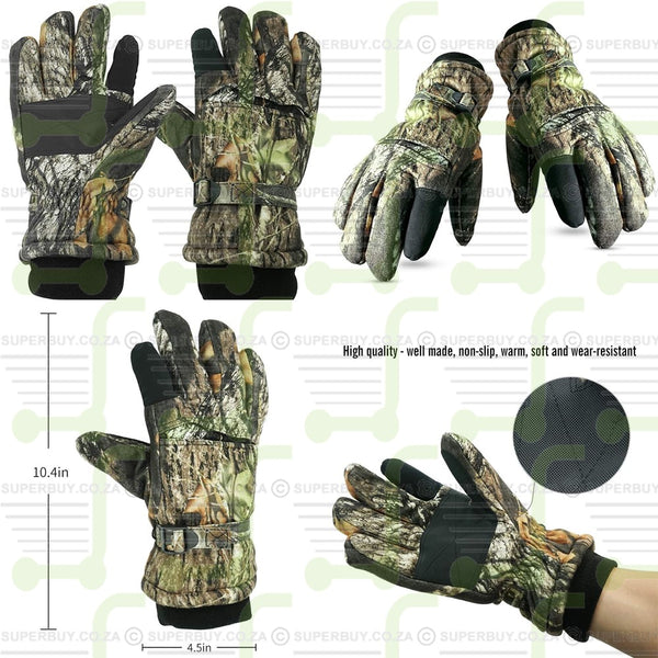 Hunting Gloves All Purpose Wear Camouflage Gloves Camo Gloves