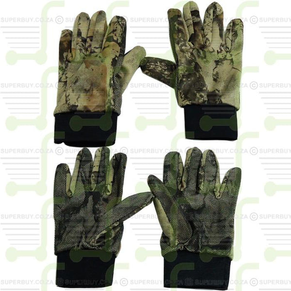 Outdoor Tactics Camouflage Thin Non-Slip Climbing Hunting Gloves