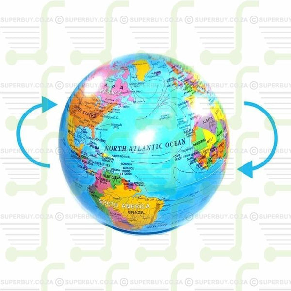 Magic Revolving World Globe 14 cm