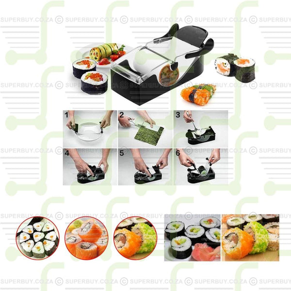 DIY Sushi Roller Machine Bento Roll Maker Kitchen Perfect Cooking Tool