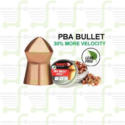 Gamo PBA Bullet 4.5mm .177 Caliber Ammunition Air gun Air Rifle Pellets - Tins of 125