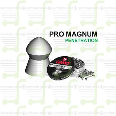 Gamo Pro Magnum 5.5mm .22 Caliber Ammunition Air gun Air Rifle Pellets - Tins of 250