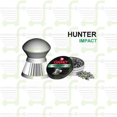 Gamo Hunter 6.35mm .25 Caliber Ammunition Air gun Air Rifle Pellets - Tins of 200